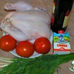 Фальшивая телятина из курицы