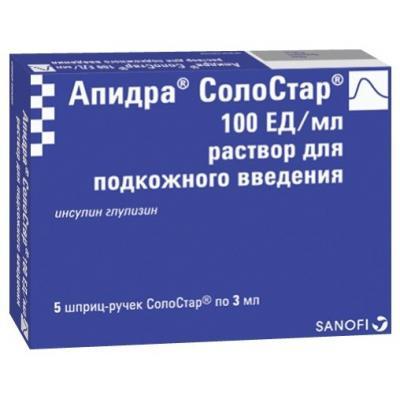 Инсулин Апидра солостар: отзывы, сколько стоит гормон, действие и производитель