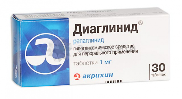 Таблетки «Диаглинид»