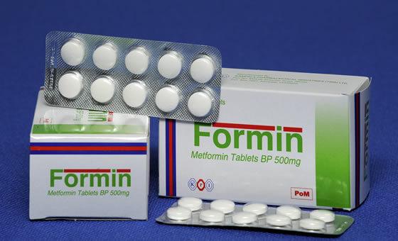 Таблетки «Формин»